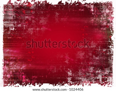 Red high res grunge backdrop with lots of detail