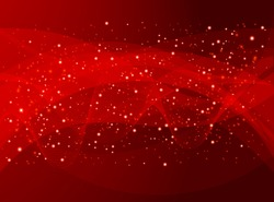 red holiday abstract background - raster