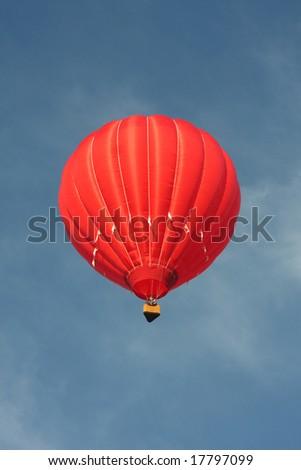 Red Hot Air Balloon 16