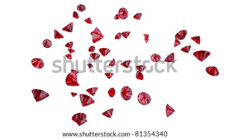 Red jewels