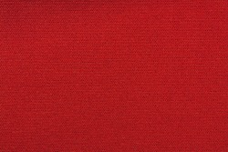 Red knitted fabric texture background