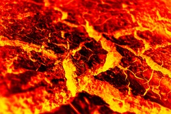 red lava and texture background.