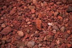 red lava rocks stones baclground