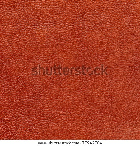 Red leather texture, background