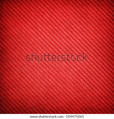 red leather with stripe texture