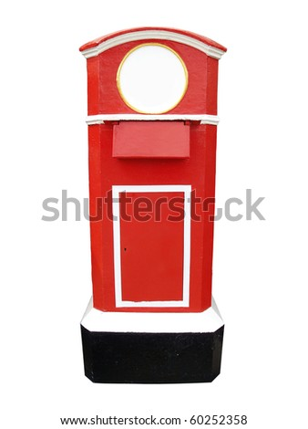 red letter post box