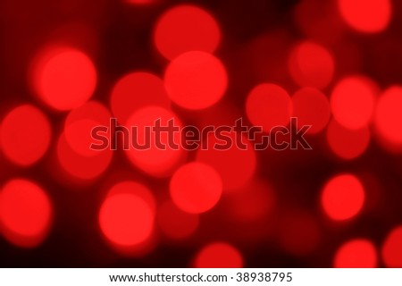 red light blur background