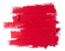 red lipstick texture
