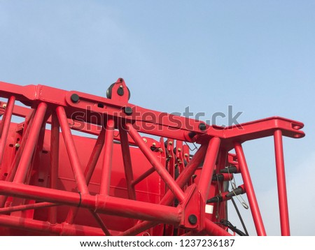 Red Machinery Aesthetics Machinery and Equipment