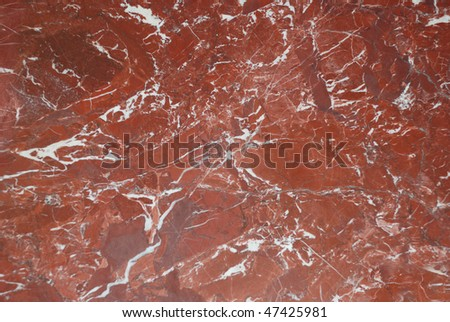 red marble