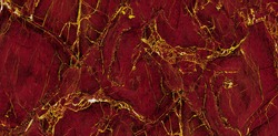 Red Marble Texture With Golden veins MarbleTexture For Interior exterior Home decoration And Ceramic Wall Tiles And Floor Tiles Surface background.