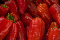 Red Marconi Pepper background. Red Marconi Pepper background.