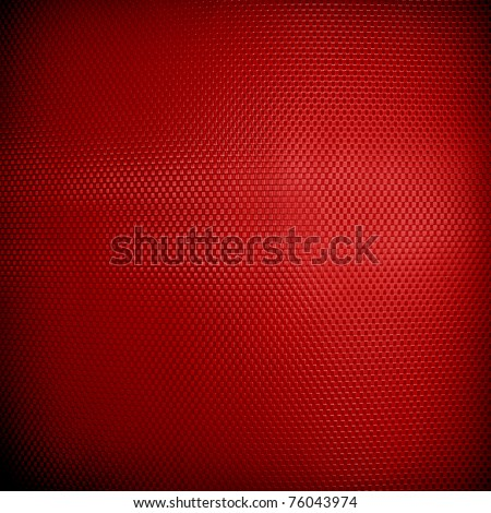 red metal plate