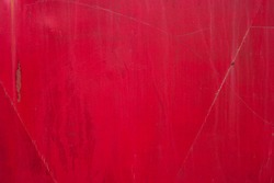 Red metal texture.