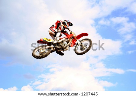 red motocross