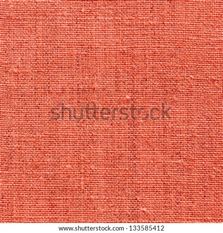 red natural linen texture for the background