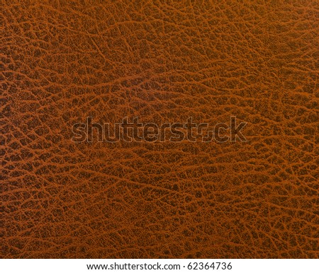Red oak leather texture closeup. Useful as background for design-works.