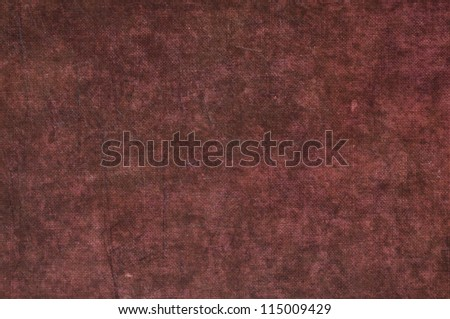 Red old worn fabric background texture