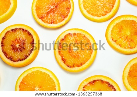 red orange in the section of the ring #1363257368