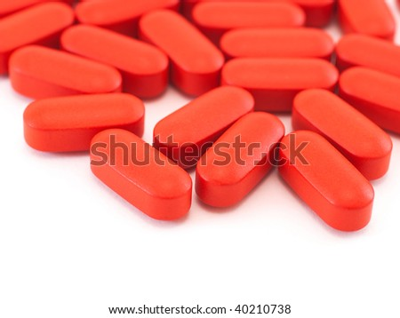 Oval Orange Pill