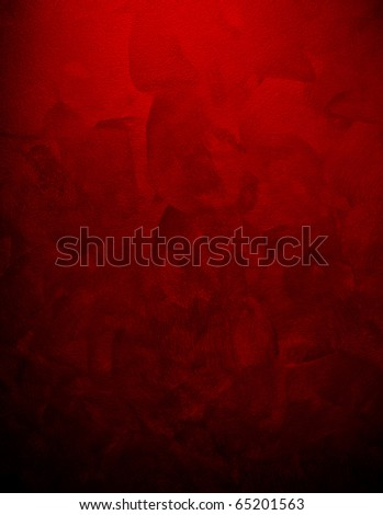 red paint background - stock photo