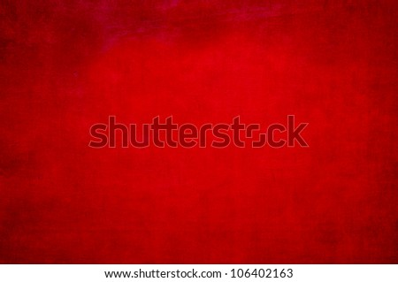 Red painted metal background