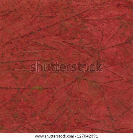 Red paper background with pattern