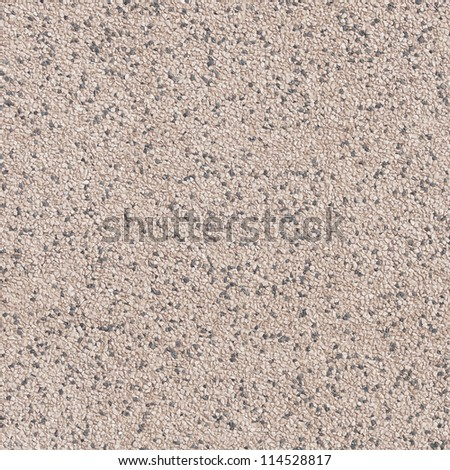 Red pebble stone tile surface background.