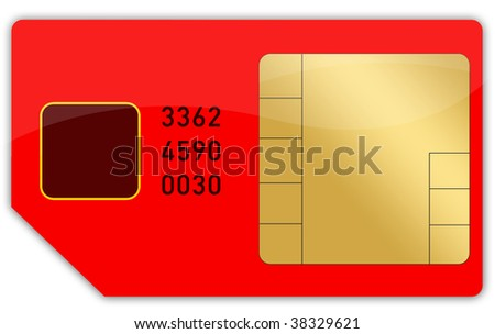 red phone card