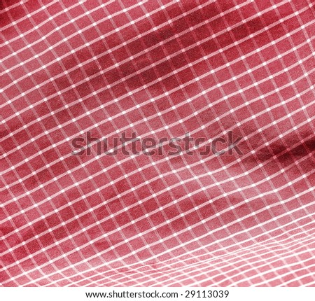 Red picnic cloth. More of this motif & more fabrics in my port.