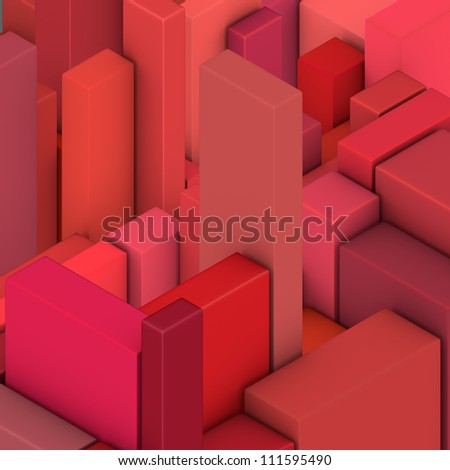 red pink abstract rectangular pattern backdrop