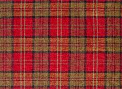 Red plaid fabric, tartan pattern check background