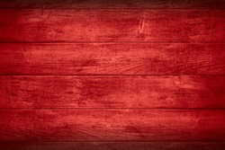 red planks background or wooden boards texture