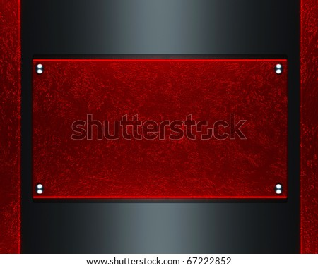 red plate texture background
