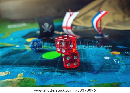 Pirate-ship-board-game Images and Stock Photos - Avopix com