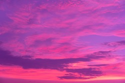 red purple cloudy dramatic sunset natural sky background