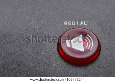Red redial  button macro