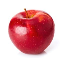 Red ripe apple