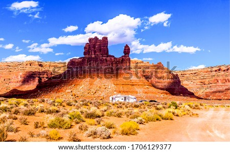 Red rock canyon landscape view. Red rock canyon desert. Red rock canyon mountains. Red rock canyon mountains landscape