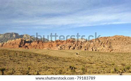 Red rock canyon, Las Vegas, Nevada - stock photo
