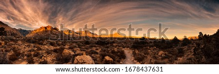 Red Rock Canyon National Conservation Area Stock photo ©