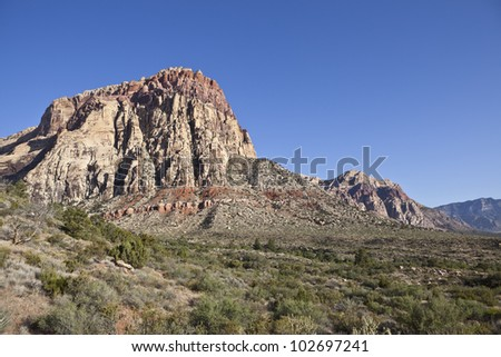 Red Rock Canyon National Conservation area near Las Vegas, Nevada.