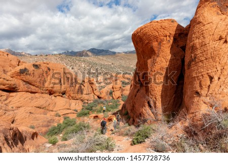 Red Rock Canyon state park Stock photo ©