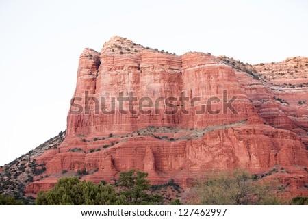 Red Rock Formations in Sedona, Arizona