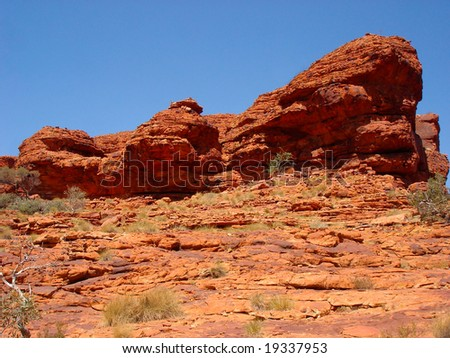 Red Rock -Kings Canyon-Australia