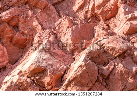 Red Rock Layers, Geological Rock Layers Background