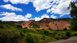 Red Rocks Amphitheatre, Colorado Music under the sun and moon