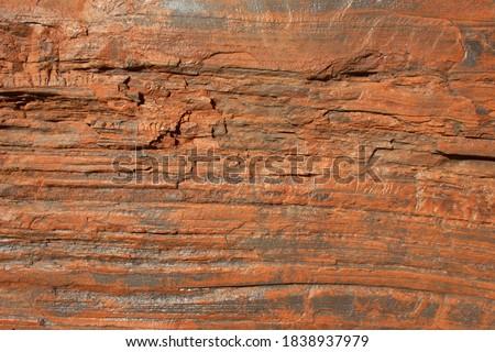 Red rocks Dales Gorge Karijini National Park Pilbara region western australia WA Zdjęcia stock ©