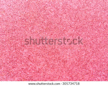 Red rubber floor background