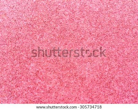 Red rubber floor background